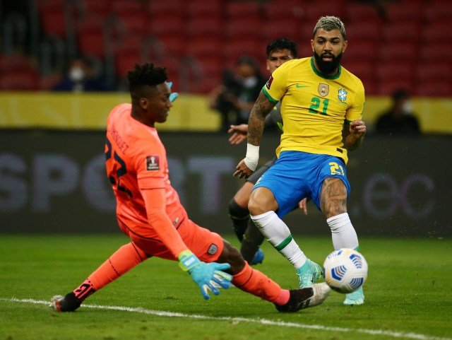 Gabigol could not spread the light even though he got a chance in the XI.