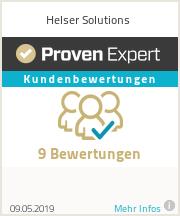 Erfahrungen & Bewertungen zu Helser Solutions