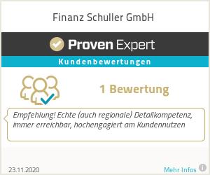 Erfahrungen & Bewertungen zu Finanz Schuller GmbH