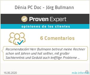 Ratings & reviews for Dénia PC Doc - Jörg Bullmann