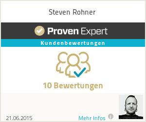 Erfahrungen & Bewertungen zu Steven Rohner