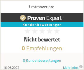 Erfahrungen & Bewertungen zu firstmover.pro