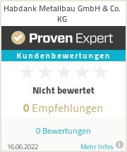 Erfahrungen & Bewertungen zu Habdank Metallbau GmbH & Co. KG