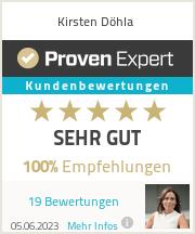 Erfahrungen & Bewertungen zu Kirsten Döhla