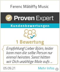 Erfahrungen & Bewertungen zu Ferenc Mátéffy Music