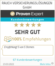 Erfahrungen & Bewertungen zu RAUCH VERSICHERUNGSLÖSUNGEN GmbH