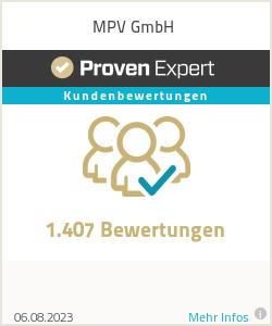 Erfahrungen & Bewertungen zu MPV GmbH