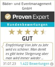 Erfahrungen & Bewertungen zu Bäder- und Eventmanagement GmbH
