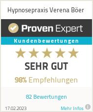 Erfahrungen & Bewertungen zu Hypnosepraxis Verena Böer