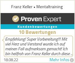 Erfahrungen & Bewertungen zu Franz Keller • Mentaltraining