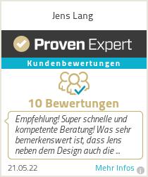 Erfahrungen & Bewertungen zu Jens Lang