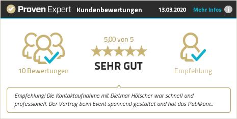 Kundenbewertungen & Erfahrungen zu Dietmar Hölscher. Mehr Infos anzeigen.