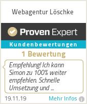 Erfahrungen & Bewertungen zu Webagentur Löschke