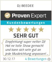 Erfahrungen & Bewertungen zu DJ BEEDEE