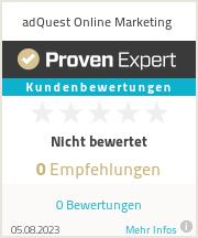 Erfahrungen & Bewertungen zu adQuest Online Marketing