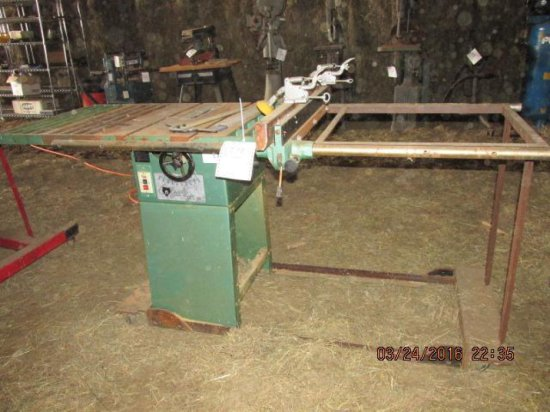 Grizzly 10 Table Saw Model G1022
