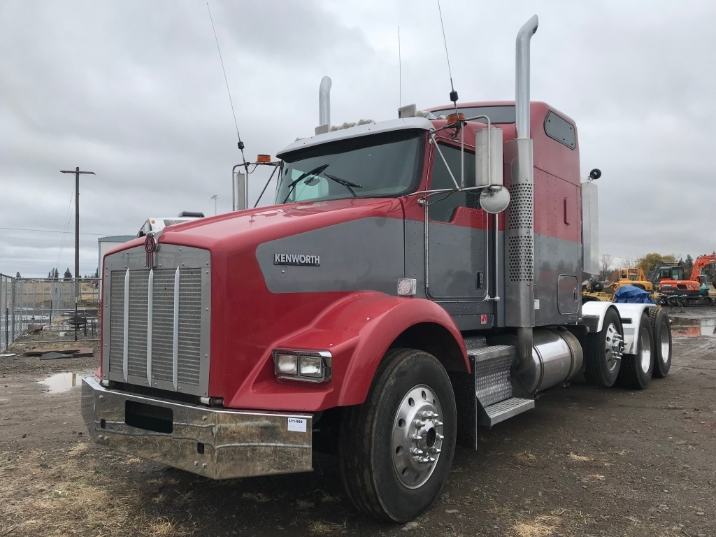hight resolution of 2007 kenworth t800 tri axle sleeper truck tractor