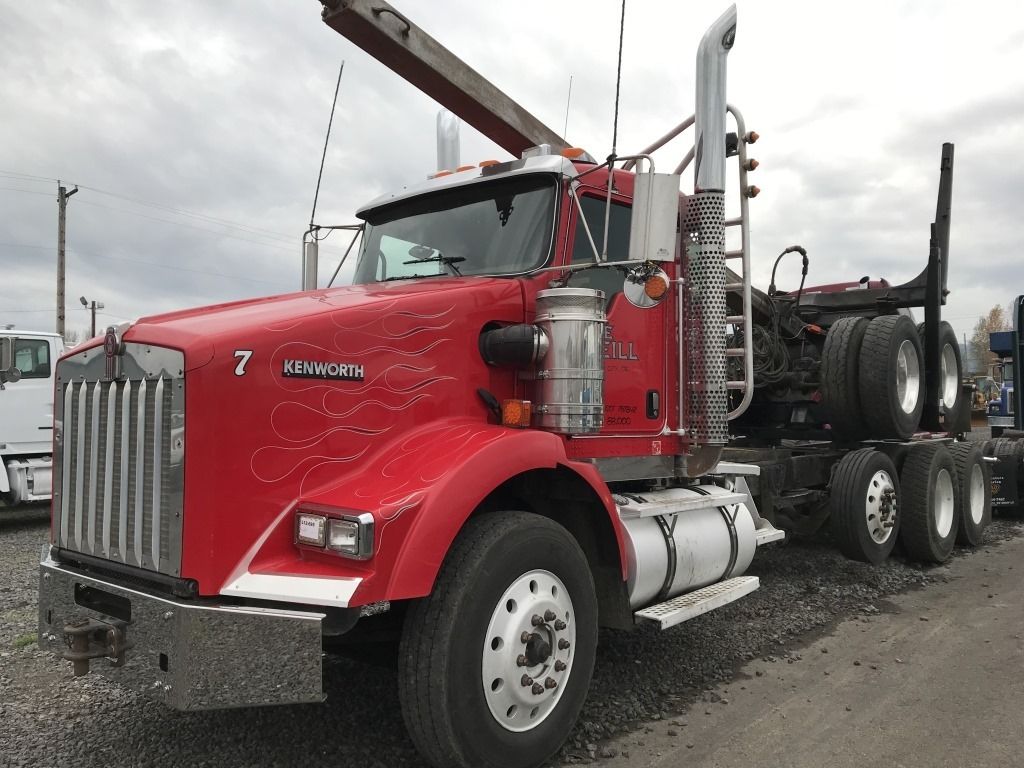 hight resolution of 2009 kenworth t800 tri axle log truck
