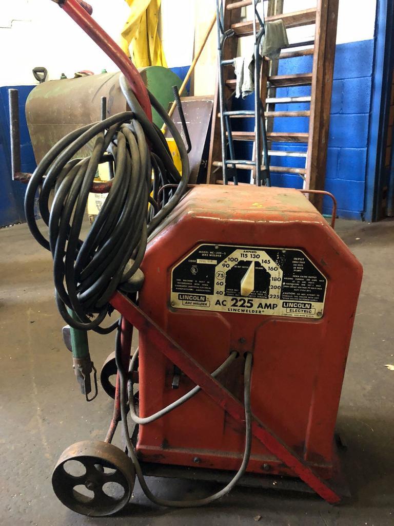 medium resolution of lincoln electric ac 225 arc welder