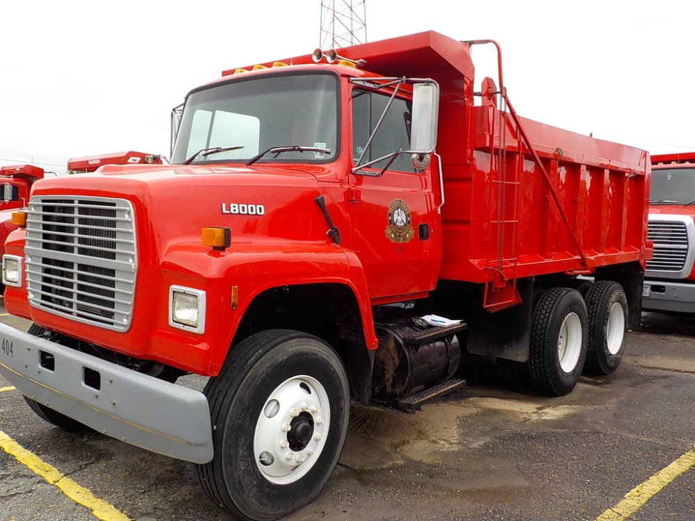 medium resolution of 1996 ford ls8000 dump truck