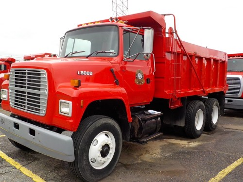 small resolution of 1996 ford ls8000 dump truck