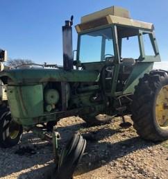 john deere 4320 salvage tractor [ 1024 x 768 Pixel ]