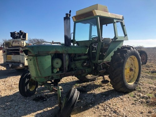 small resolution of john deere 4320 salvage tractor