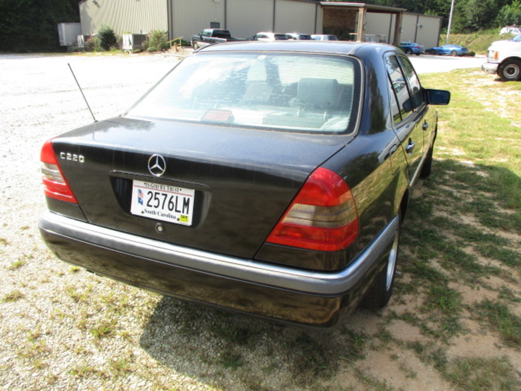 hight resolution of  1995 mercedes benz c220 4 door black coupe