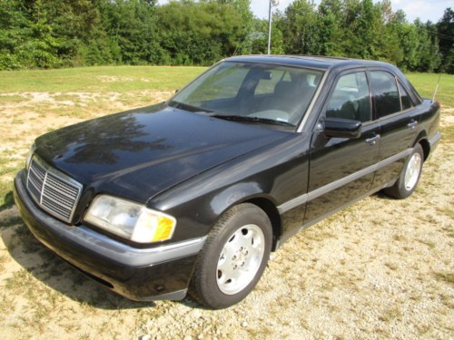 small resolution of 1995 mercedes benz c220 4 door black coupe