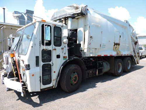 small resolution of 2008 mack le600 mcneilus garbage truck note title delay