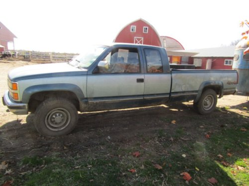 small resolution of 92 chevrolet 2500 4x4 extended cab pickup good rubber v8 at shows