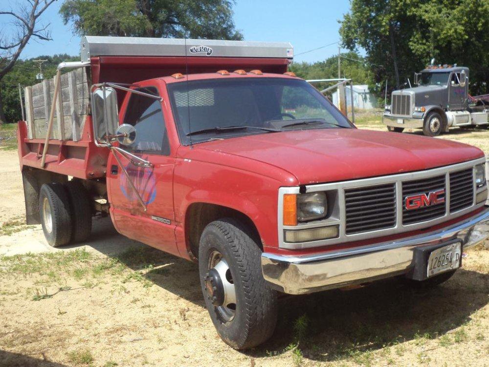 medium resolution of 1991 gmc sierra 2500hd dump truck