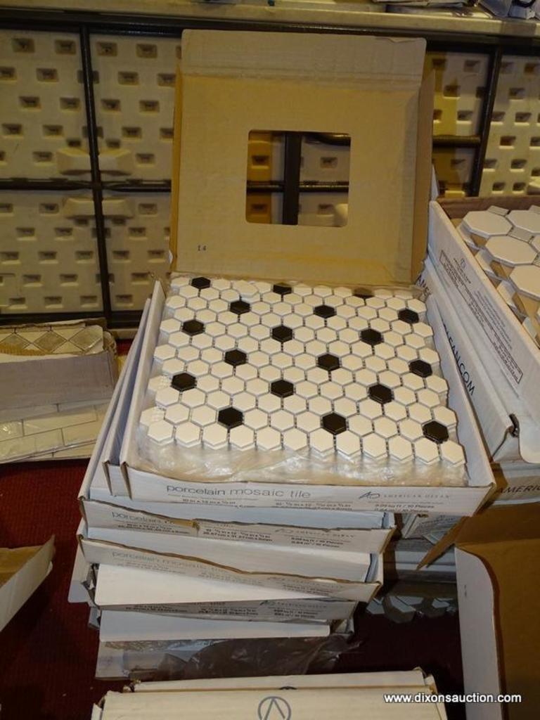american olean porcelain mosaic tile