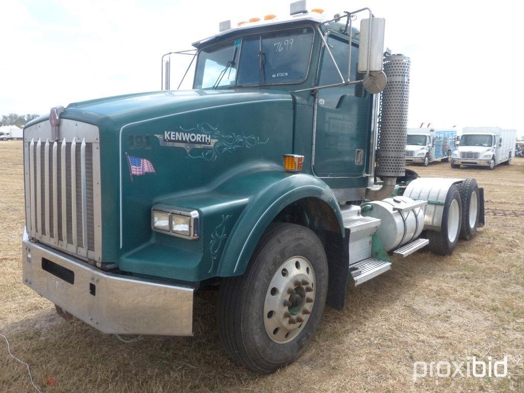 hight resolution of 2001 kenworth t800 truck tractor vn 873278 powered by cat c15 acert diesel engine 475hp equipped w