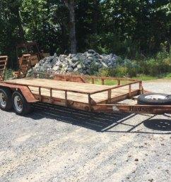 hudson 18 equipment trailer  [ 1024 x 768 Pixel ]