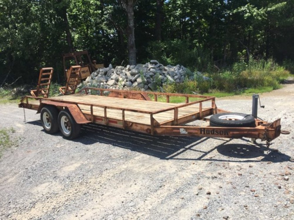 medium resolution of hudson 18 equipment trailer