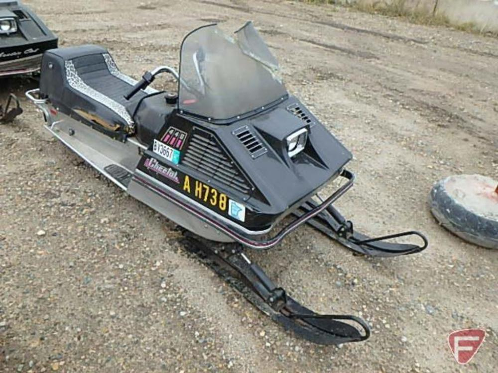 medium resolution of  1972 arctic cat 440 cheetah snowmobile with 340 engine motor is free