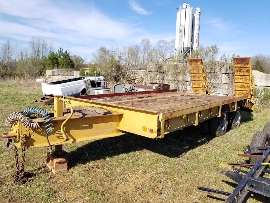 hight resolution of hudson trailer 10 ton 20ft