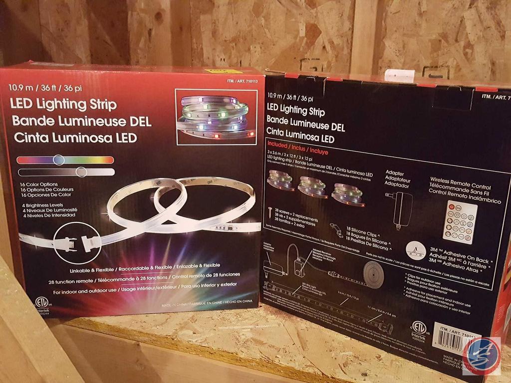 indoor outdoor led lighting strips