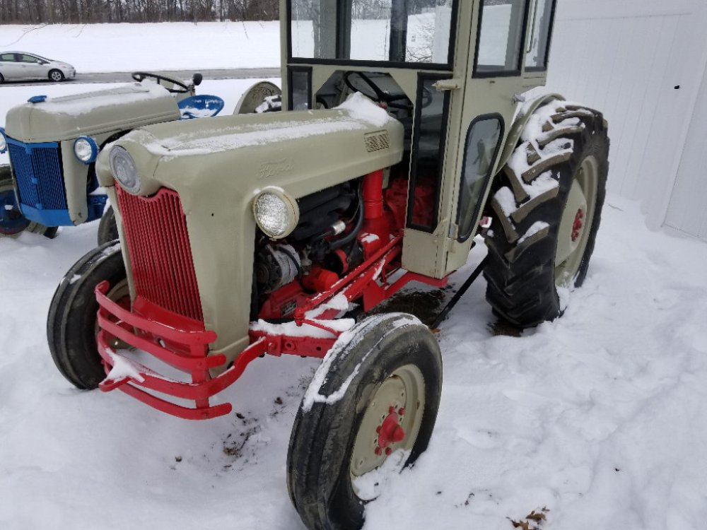 medium resolution of ford jubilee tractor with cab 3 pt pto