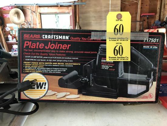 Craftsman Plate Joiner 58 Hp