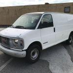 2000 Gmc Savana 2500 White Van Commercial Trucks Van Cargo Trucks Cargo Van Trucks Online Auctions Proxibid