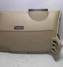 details about bmw z3 dashboard left drivers lower knee bolster trim panel beige 1996 2002 oem [ 1600 x 1195 Pixel ]