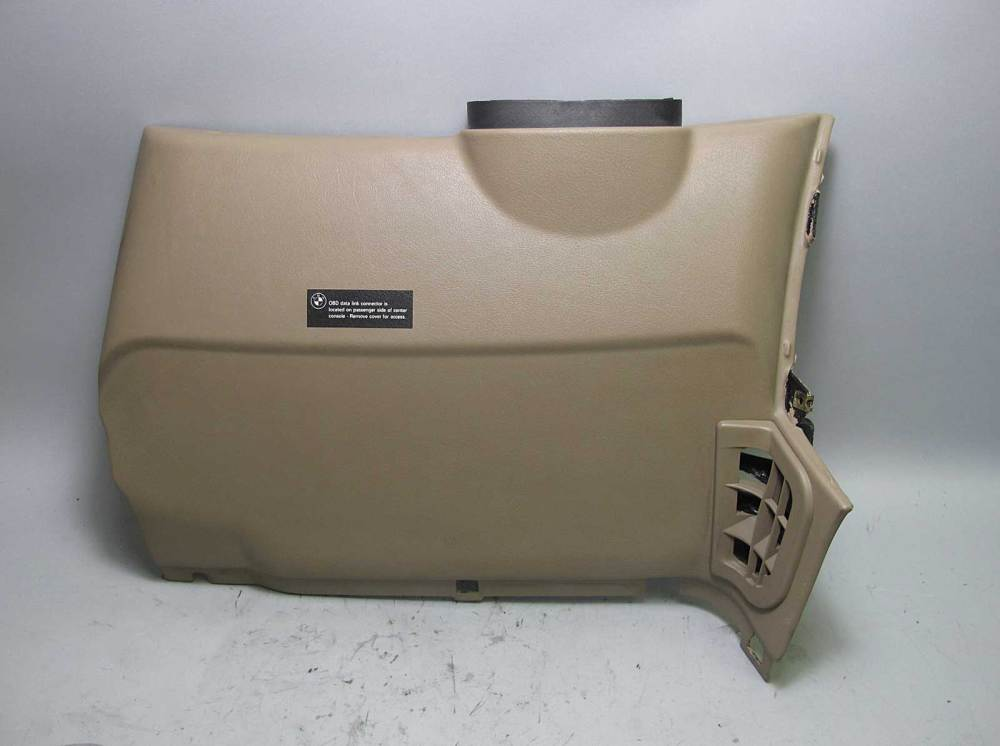 medium resolution of details about bmw z3 dashboard left drivers lower knee bolster trim panel beige 1996 2002 oem