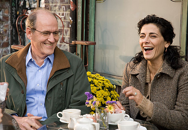 Richard Jenkins and Hiam Abbass, in