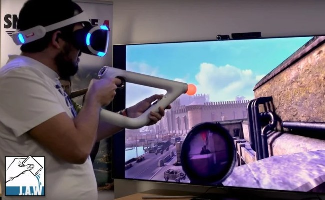 Sniper Elite Vr Will Bring You Closer To The Scope Push