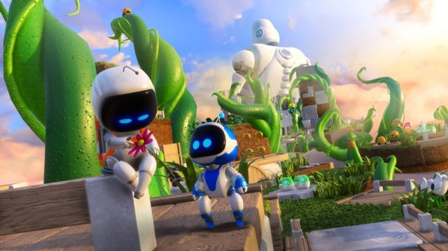 Best PSVR Game Astro Bot Rescue Mission