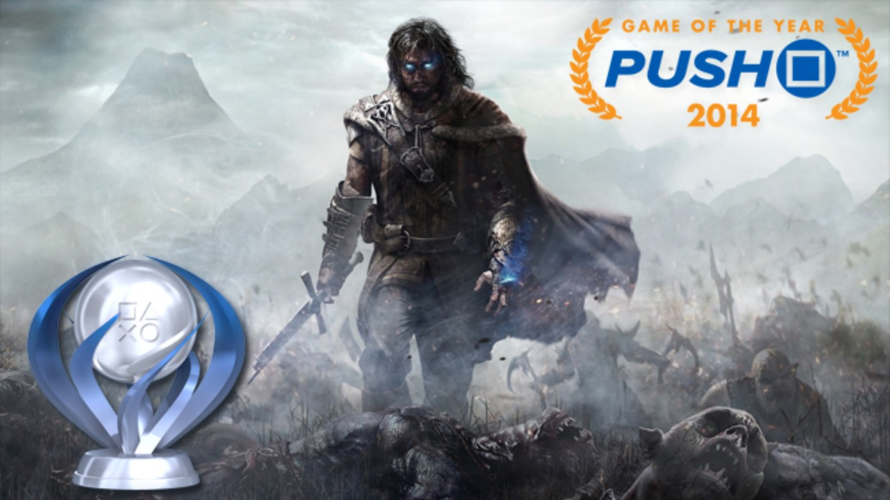 Game of the Year: Platinum Trophy - Middle-earth: Shadow of Mordor - Push Square