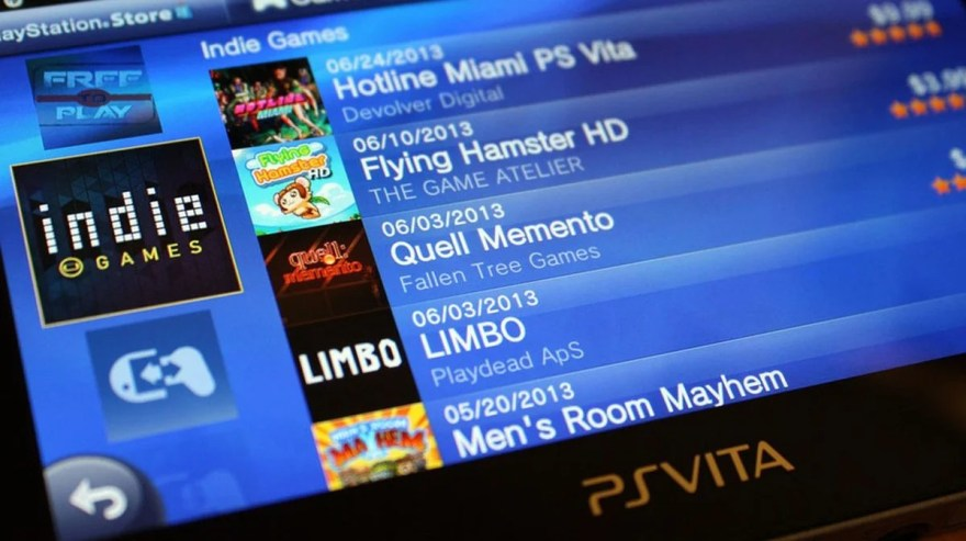 Sony Could At the Very Least Remember to Refresh PS Vita's Store ...