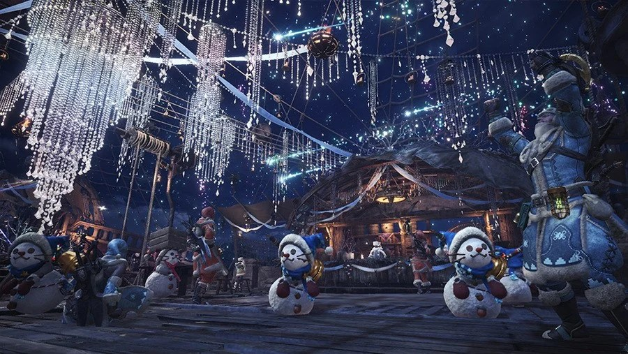 Monster Hunter Worlds Big Winter Festival Starts This